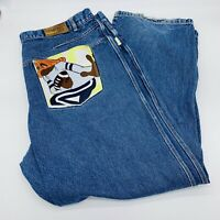 FUBU Platinum Fat Albert Collection Jeans Dumb Donald Big & Tall Mens Sz 46x34