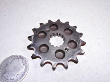 82 KAWASAKI KZ550 LTD FRONT PRIMARY DRIVE SPROCKET 16T