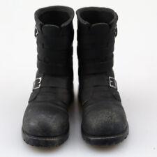 1:6 Male Shoes Black Hollow Shoes Tank Soldier Combat Boots Fit 12'' Figure Toys