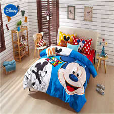 5pc. DISNEY'S MICKEY POLKA DOT 100% COTTON TWIN FULL QUEEN COMFORTER SET