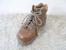 Dr. Martens Toya Lace Up Booties Womens 7M Brown Distressed Leather Worn Once