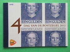 Nederland Prestigeboekje 43 PR43 Dag vd postzegel mooi gestempeld zeer lastig !