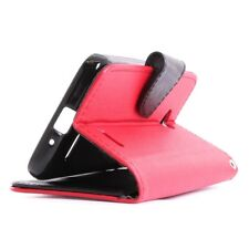 For LG Optimus L70 Exceed 2 Realm Pulse Ultimate 2 L41C Wallet Pouch Case + LCD