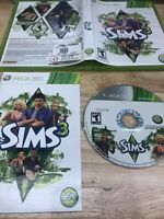The Sims 3 Microsoft Xbox 360 2010 Complete *