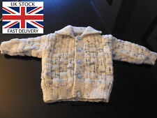 NOT AVAILABLE CARDIGAN 3-6 Months Boys BLUE BEIGE D.K FREE DELIVERY 🇬🇧