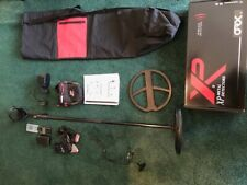 Xp Orx metal detector with X-35 coil, wireless headphones, and other items!