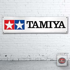 TAMIYA Banner -- HEAVY DUTY Banner per officina, garage, L'UOMO GROTTA RADIOCOMANDO