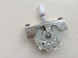 CRL type 5-way Switch + Tip. Pickup Lever Switch Fender/Squier Electric Guitars