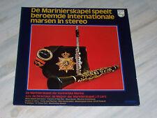 De MARINIERSKAPEL der Koninklijke Marine - Beroemde internationale Marsen / LP !