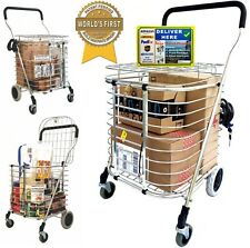 Kingstate Cart - Newest Utility Shopping Cart Protects Your Package Receiving
