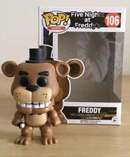 Funko POP Games fnaf cinque NOTTI AL FREDDY/'S #106 FREDDY FLOCCATI-VINILE NUOVO