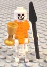 LEGO Pirates Caribbean Queen Anne's Revenge (4195)  Skeleton Minfigure Masthead