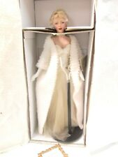 "NEW Franklin Mint Marilyn Monroe ""All About Eve"" 19"" Porcelain Doll ... DL-06"