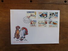 SWEDEN 2016 BARN ELVES SET 6 STAMPS FDC FIRST DAY COVER