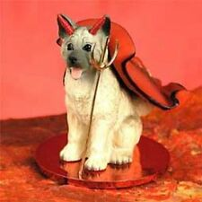 Akita Gray Devil Dog Tiny One Figurine Statue