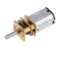 Mini 12V DC High Torque Gear Box Electric Motor for DIY Engine, Choice of RPM