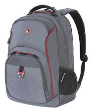 "Wenger SwissGear Grey Thur 15"" Laptop Tablet School Work Book Backpack SA5865.A"