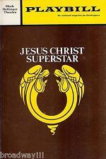 "Tom O'Horgan ""JESUS CHRIST SUPERSTAR"" Ben Vereen (Autographed) 1971 Playbill"
