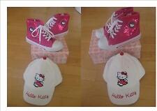 Hello Kitty Set (Schuh + Kapperl)  -  Gr. 33 Top!!! Neu