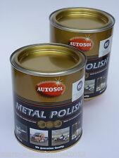 (29,20 €/L) 2x 750 ml Autosol ® chrompolitur cromo brillo metal Polish limpiador