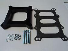 "1"" Open Phenolic Carburetor Spacer 4bbl SBC BBC BB SB Fits Holley Chevy Ford 350"