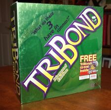TriBond Diamond Edition Board Game -What Do These 3 Things Have In Common? No CD