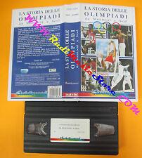 VHS film LA STORIA DELLE OLIMPIADI da Montreal a seul CINEHOLLYWOOD(F128) no dvd