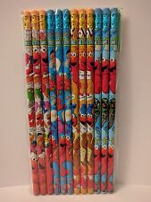 Sesame Street Elmo 1 Pack Of 12 Pencils Party Favors Cookie Monster Bert Ernie