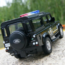 "Land Rover Defender 5.3"" Model Cars Police Toys Gifts & collection Alloy Diecast"