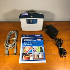 Brother P Touch Pt 1500pc Label Thermal Printer And Cords Uses 14 1 Tz Tape