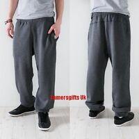 Reebok Elements Fleece Jogging Tracksuit Bottoms Sweatpants Trouser Mens Size
