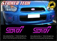2 X BLOBEYE 03 - 05 MY04 SUBARU IMPREZA WRX STI FOG LIGHT COVER STICKER DECAL