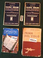 4 LIBRI:MATEMATICA  GARNIERT CALCOLO SUBLIME Analisi infinitimale 2 vol. HOEPLI