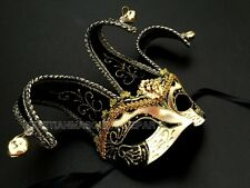 Mardi Gras Carnival Jester Masquerade Ball Mask Costume Dress up Birthday Party