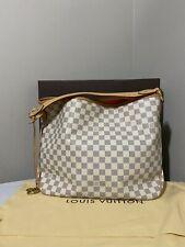 LOUIS VUITTON Damier Azur Canvas Delightful MM Bag