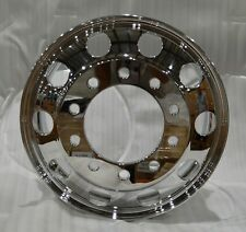 Commercial Truck Trailer 22.5 X 8.25 Forged Aluminum Wheel Polished Hub Pilot