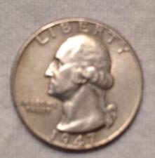 1947 25C Washington Quarter
