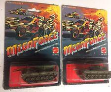 Hot Wheels MEGA FORCE MEGA RARE BATTLE TANK SET OF TWO VARIANT CARDS 5270 & 5272