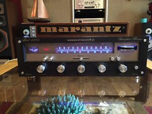 Marantz Model 2200 Stereophonic Receiver!! Black face !! Beautiful!!