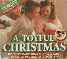 A Toyful Christmas Performed With Kids (Cd 2005) NEW [Cd+Dvd]*