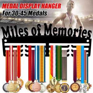 Football Medal Holder Display Hanger or Rack Personalised 5mm MDF Wood Free Post