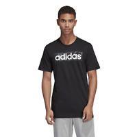Adidas Men Tshirt Running Logo Box Tee Graphic Fashion Black Training New DV3041