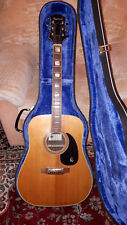 Vintage Epiphone FT-150 Bard 70s Akustische Gitarre mit Koffer