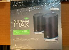ARRIS SURFboard mAX Plus Mesh 975 Mbps Wi-Fi6 System (1001198) - 2 Pack