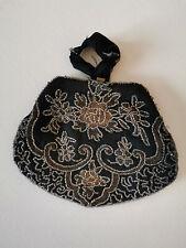 Antike Tasche mit Perlenstickerei Herkunft Rumänien-Transilvanien-Siebenbürgen