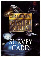Star Trek 1994 Sky Box Master Series Promo Survey Card (C821)