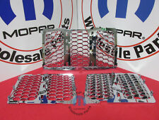 JEEP GRAND CHEROKEE Chrome Honeycomb Grille Inserts NEW OEM MOPAR
