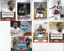 8x Lot 2011 Von Miller Rookie Card RC Broncos (1 of each Pictured)