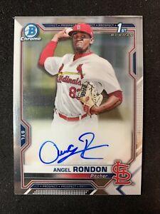 2021 Bowman Chrome prospect 1st Bowman Angel Rondon Autograph 🔥📈