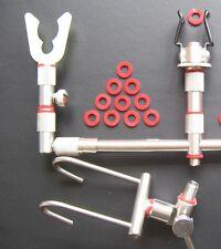 Cat/CarpFishing Tackle O Ring x36 fit Rod Rest Pod Bank Stick 7-12mm #rbs361